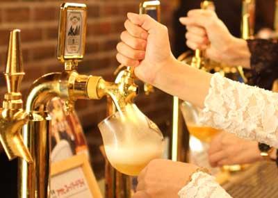 全8種類の生ビール飲み放題